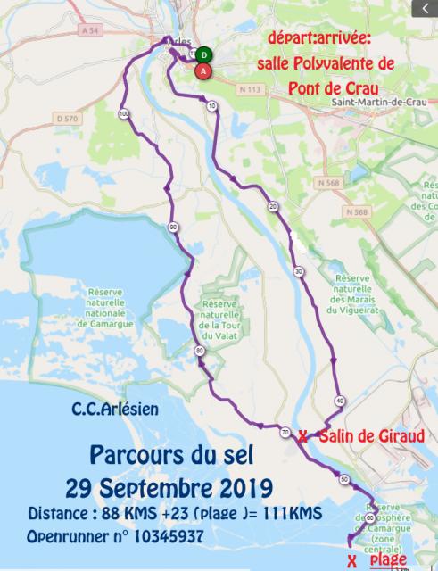 Parcours du sel 29 09 2019